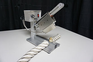 Heavy duty rope cutting hot knife