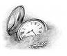 pocket watch in sand shutterstock_245325