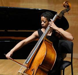Cécile-Laure Kouassi, double bass