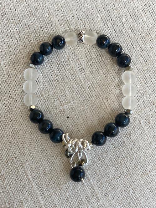 Blue tiger bracelet