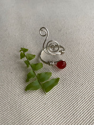 Wire wrap ring- adjustable