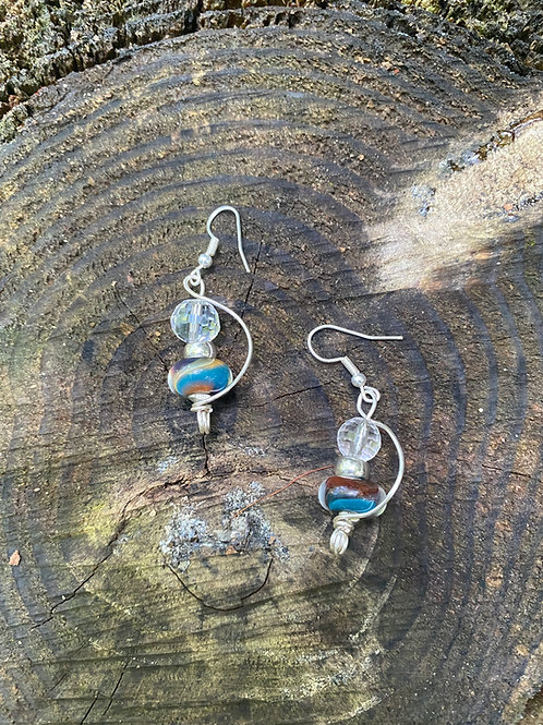 Crystal blue swirl