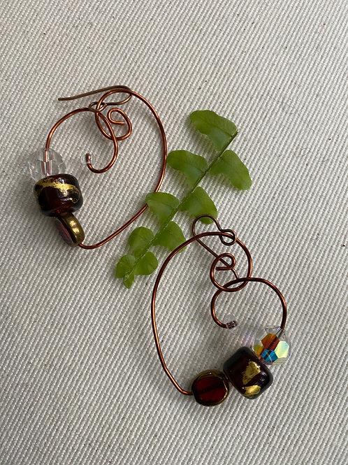 Red Swarovski jewels