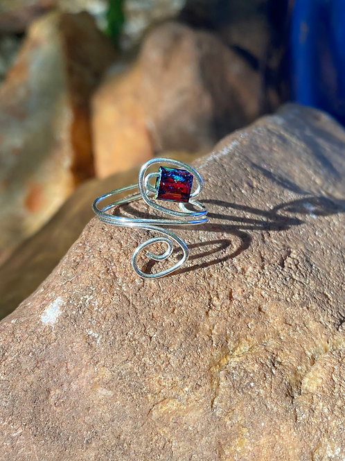 Red Tila toe ring (3rd chakra)