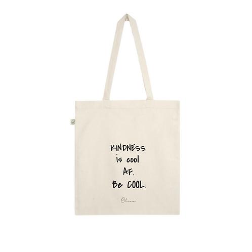 Tote bag - KINDNESS IS COOL AF