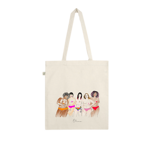 Tote bag - ALL WOMEN ARE BEAUTIFUL