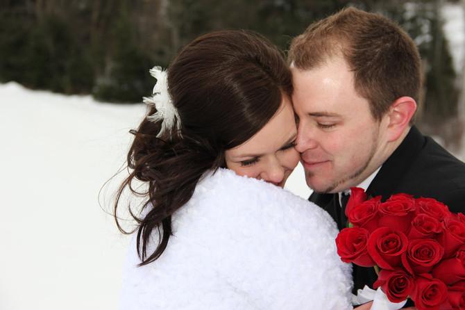 Jonathon and Miranda -  A Wonderful Winter Wedding