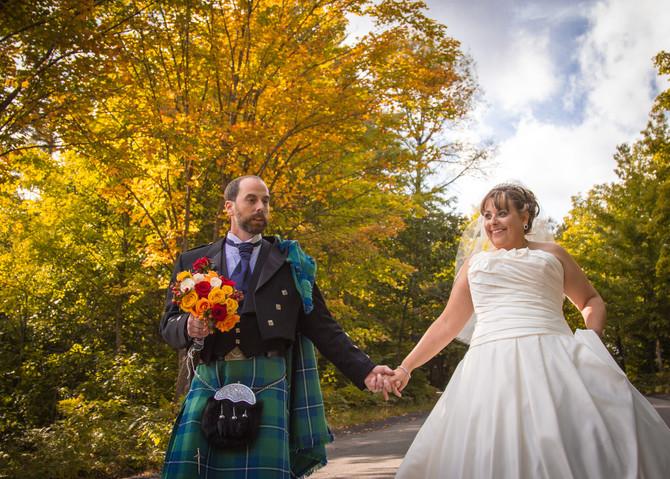 Scott and Kathleen - A Scottish wedding