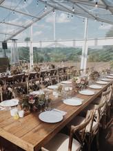 Skaidrus paviljonas vestuvėms, kitoms šventėms