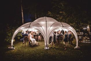 Multipaviljonas vestuvėms, kitoms šventėms