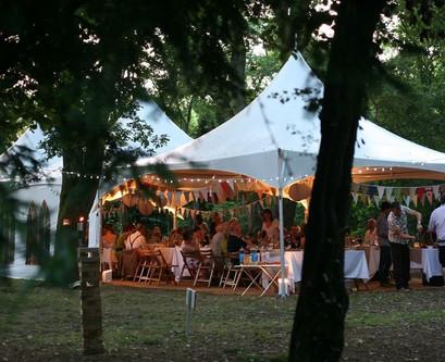 Paviljonas Pagoda vestuvėms, kitoms šventėms