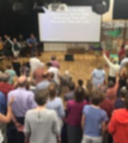 St Leonard's worshipping