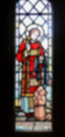st leonard stained glass