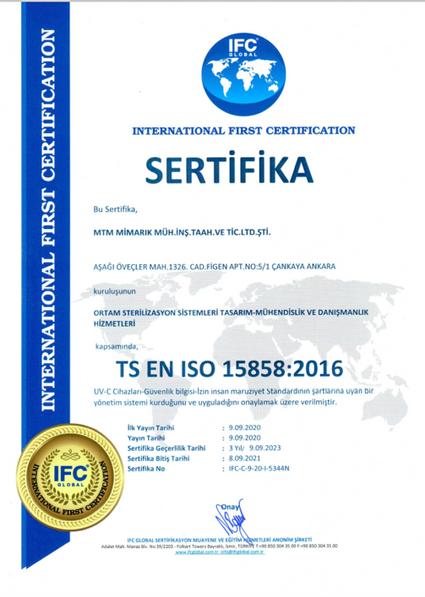 TS EN ISO 15858:2016