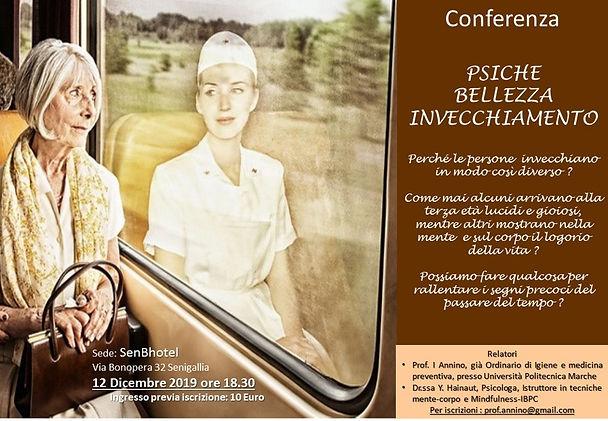 Locandina Conferenza Psiche Bellezza Inv