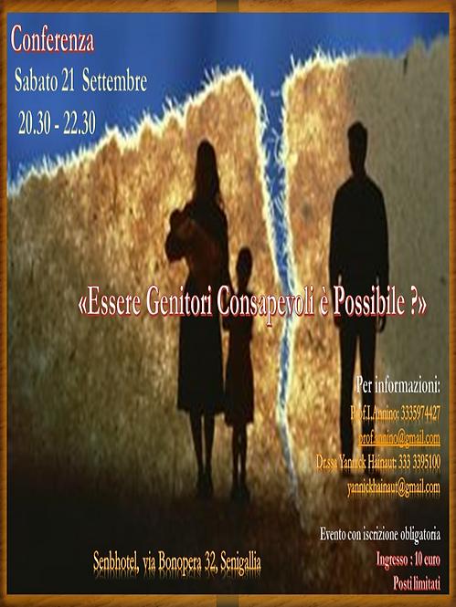 Locandina Conferenza 21 settembre 2019 .