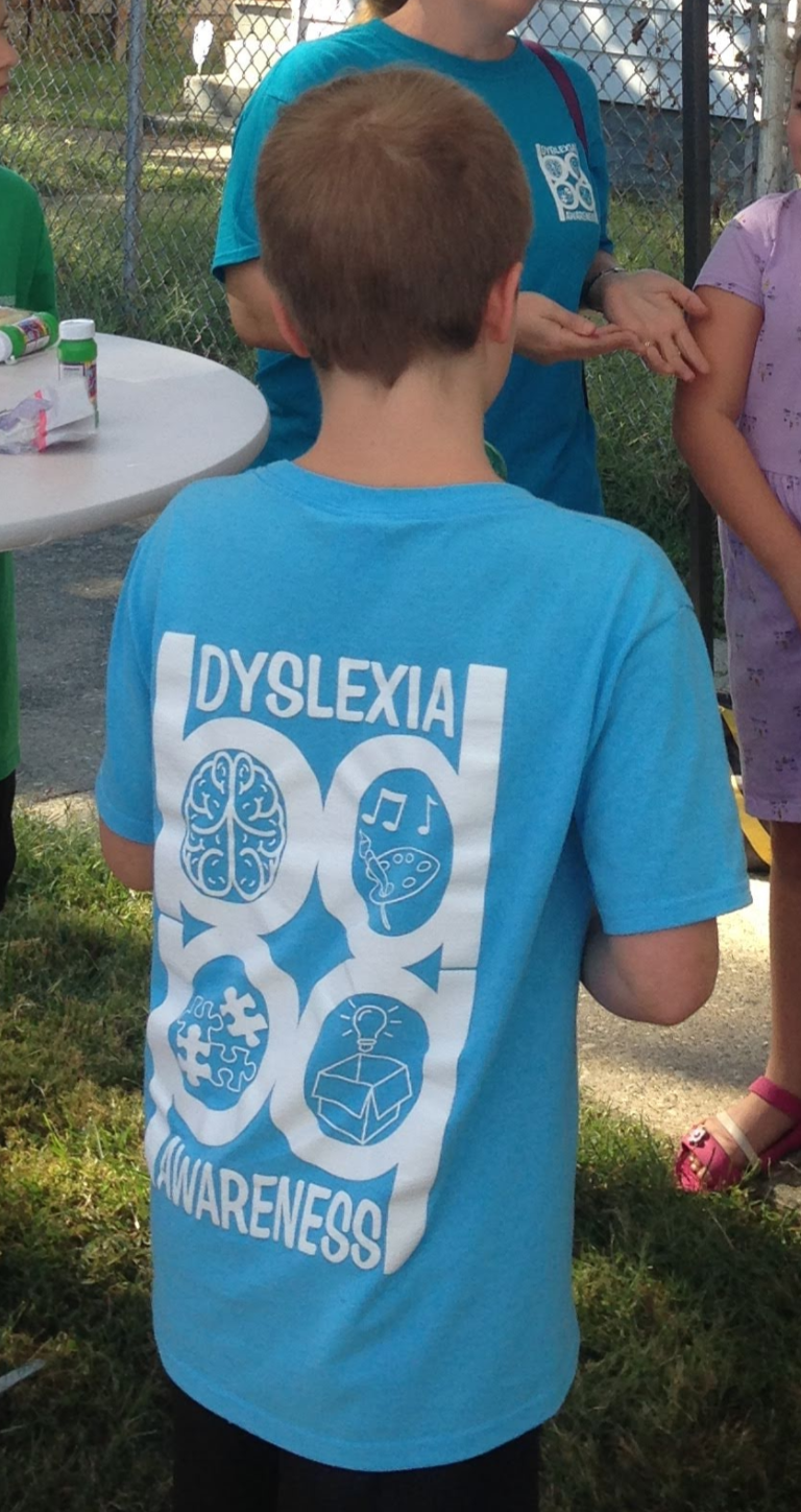 Dyslexia Awareness Shirts
