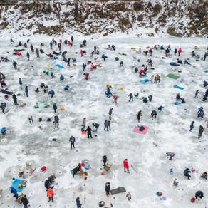 เทศกาลเกล็ดหิมะ Cheongpyeong Snowflake Festival