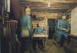 Interrogatoire prisonnier allemand