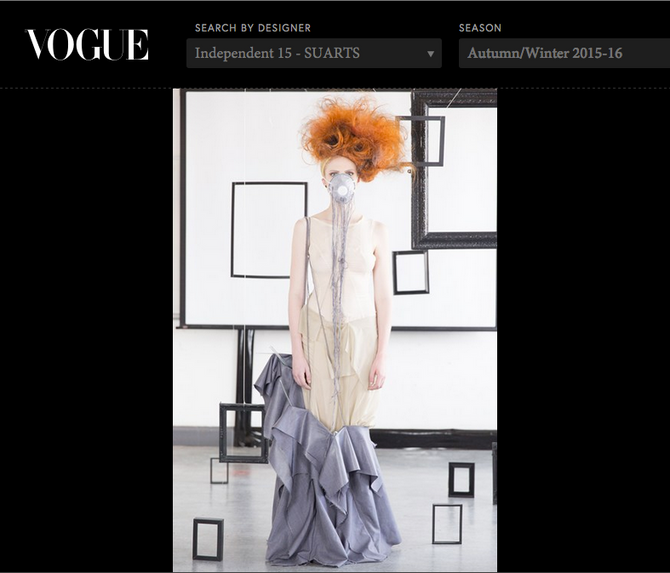 SUARTS 1NDEPENDENT '15 Vogue feature