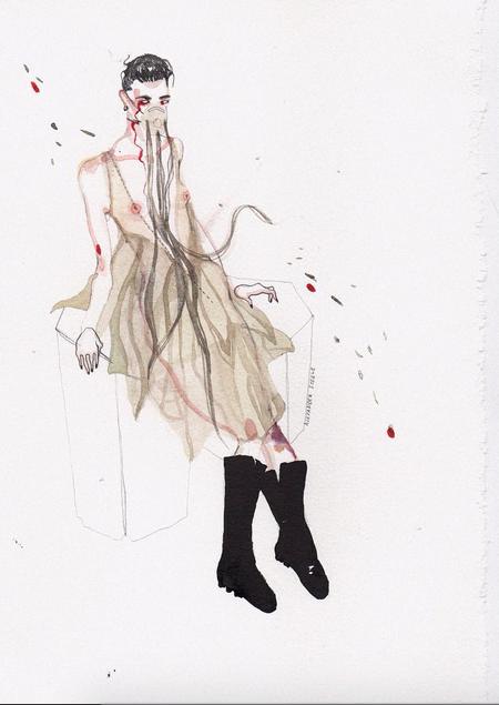 Kristina Gedris illustration of Phile