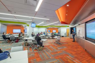 SUNY Onondaga Community College Ferrante Innovative Classroom
