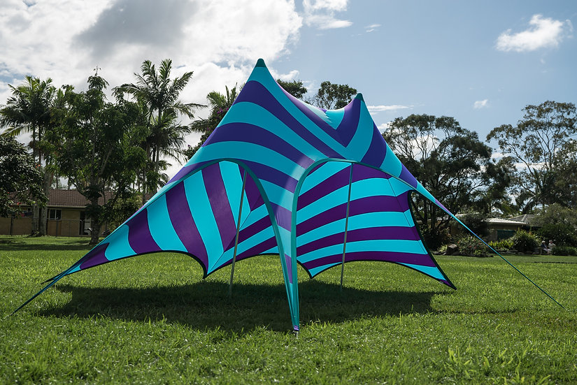 Stripes - Blue/Purple