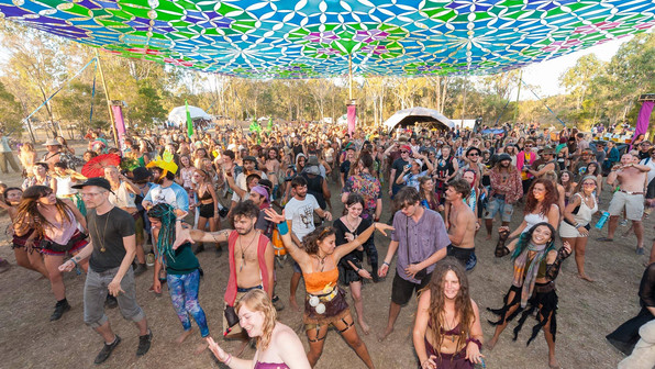 Earth Frequency Festival 2019 - Earthpod Stage - SEQLD