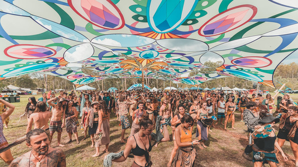 Earth Frequency Festival 2020 - Earthpod Stage - QLD