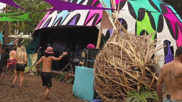 Dome Cover - Sprout Festival 2018 - FNQLD
