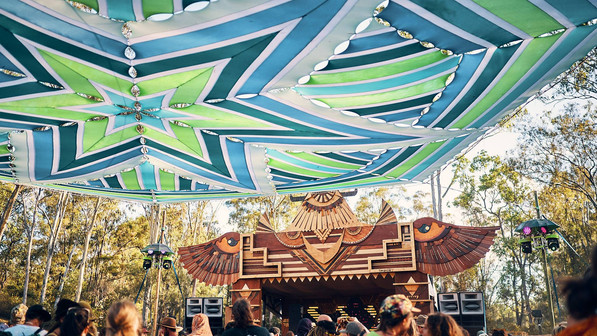 Earth Frequency Festival 2019 - Subterran Stage - SEQLD