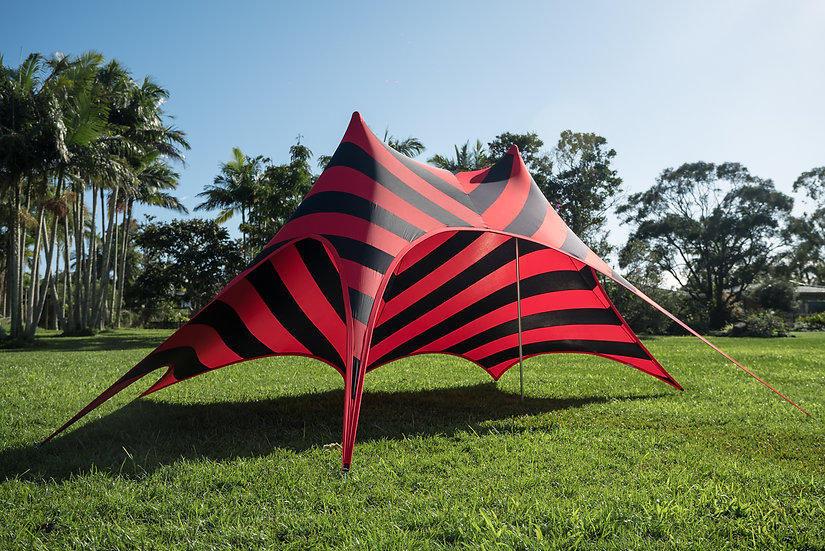 Stripes - Red/Black