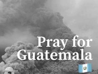 Vulcan De Fuego Erupts in Guatemala