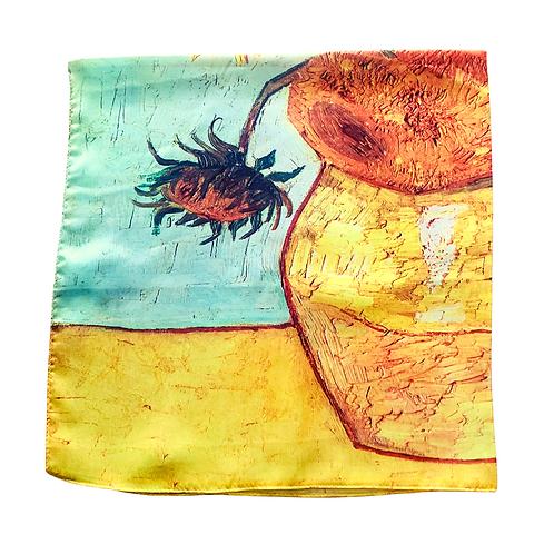 Tuch Seidenmix No°4   Van Gogh