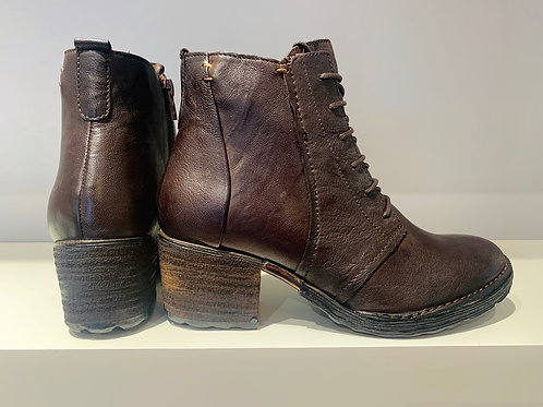 KHRIO's Ankle Stiefelette | deep brown