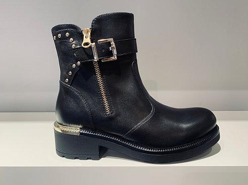 NERO GIARDINI Boot Black Gold