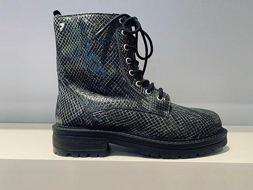 GIOSEPPO Combat Boot Croco Green