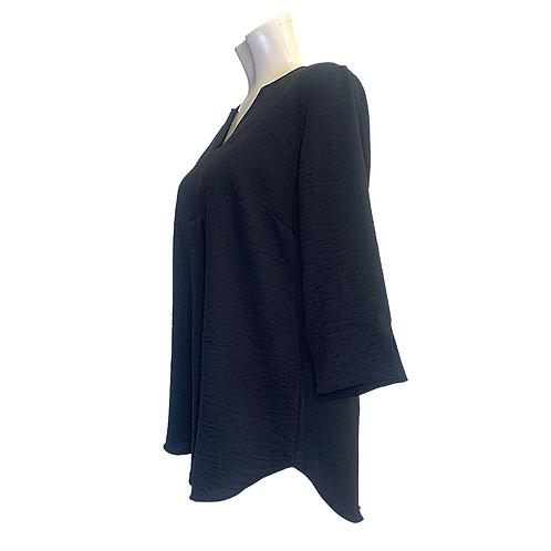 Crepe Shirt | black