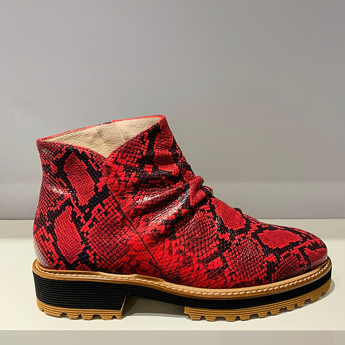 GADEA Ankle Boot Red