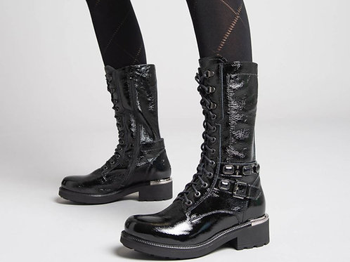 NERO GIARDINI Glam Biker Boots Black