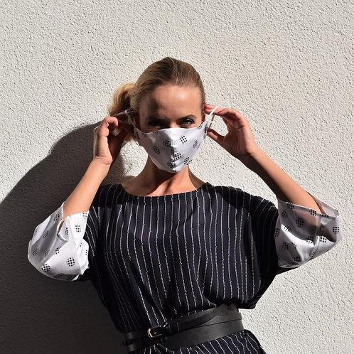 Alltagsmaske Black & White   unisex