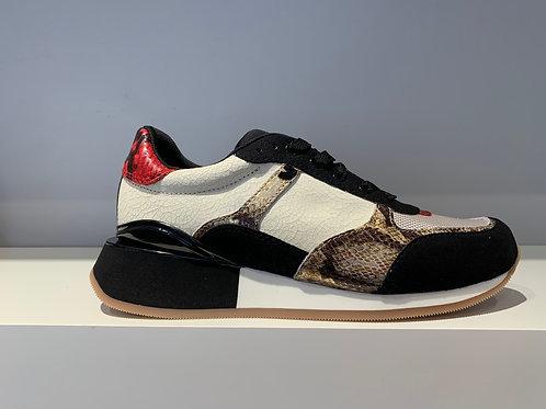 GIOSEPPO Red Snake Sneaker