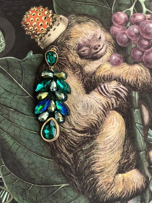 Ohrhänger | emerald crystal