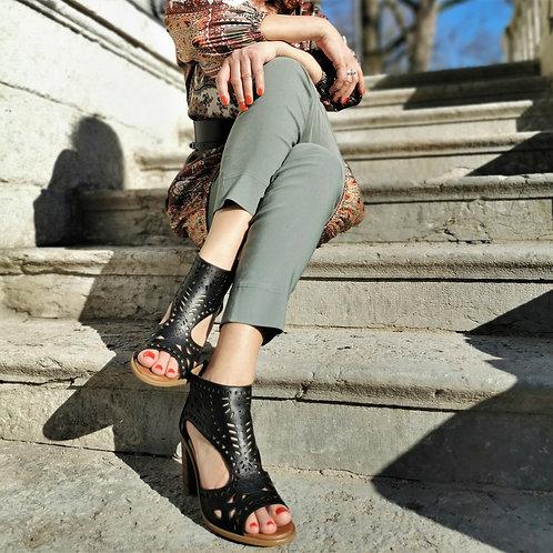 Sandale | Ethno black