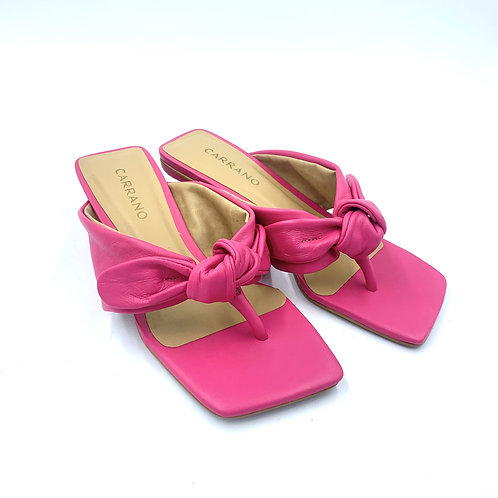 Kitty Heel Sandale   Pink