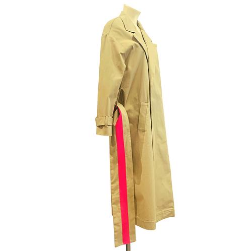 Trenchcoat | beige & pink