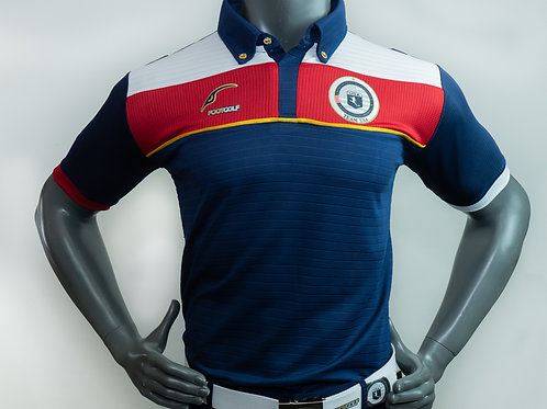 Blue Polo Short Sleeve Team USA