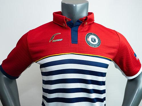 Red Polo Short Sleeve Team USA