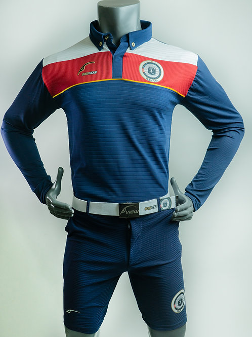 Blue Polo Long Sleeve Team USA