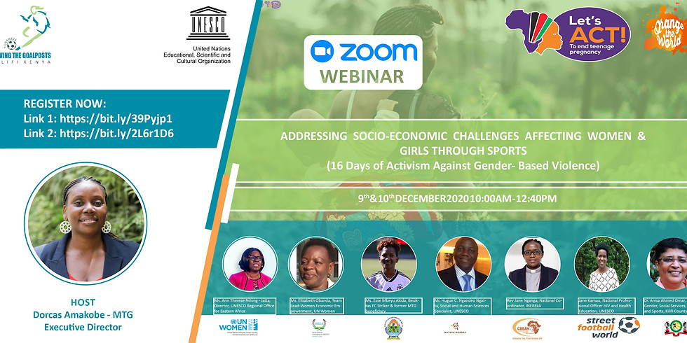 Addressing Socio-economic Challenges affecting Women and Girls through Sports